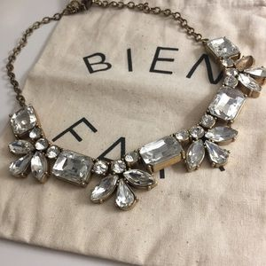 J Crew Jewel Stone Statement Necklace
